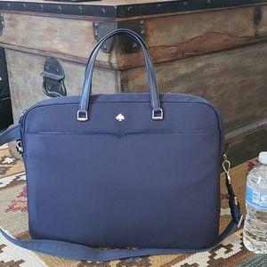 Kate Spade Jae Nylon Laptop Bag Nightcap blue